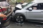 4 ô tô đâm nhau trên cao tốc trong ngày đầu năm mới
