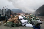 Quảng Ninh: Cháy kho hàng cửa khẩu Bắc Phong Sinh
