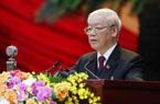 Tổng Bí thư Nguyễn Phú Trọng: Xin hứa với Đại hội, Ban Chấp hành T.Ư sẽ là một khối đoàn kết, thống nhất cao