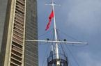 TP.HCM: Hoàn thành trùng tu cột cờ Thủ Ngữ 155 năm tuổi