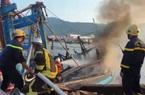 """Đà Nẵng: """"Bà hỏa"""" ghé thăm mùng 3 Tết tại cảng cá, hàng trăm người tham gia chữa cháy"""
