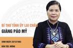 Chân dung nữ Bí thư tỉnh uỷ đương nhiệm trưởng thành từ ngành công an
