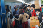 Giá vé tàu Tết tiếp tục giảm 30%