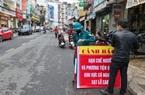 Đà Lạt: 10 căn nhà trên đường Phan Bội Châu bị căng dây cảnh báo sạt lở