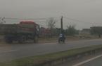 Clip nóng: Phẫn nộ xe chở vật liệu đi ngược chiều trên cung đường thường xảy ra tai nạn tại Ninh Bình