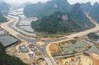 Chuẩn bị khoan đường hầm xuyên núi đá dự án đường bao biển Hạ Long - Cẩm Phả