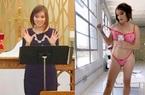"""Nữ mục sư """"nghèo khổ"""" rời nhà thờ để trở thành người mẫu kiếm 70.000 Bảng/tháng"""