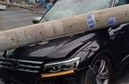 TP.HCM: Ô tô tông ngã trụ điện khiến hàng trăm hộ dân mất điện