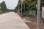 Ninh Bình: Di dời xong 40 cột điện nằm giữa đường