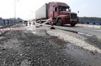 Cao tốc Đà Nẵng - Quảng Ngãi nguy cơ xuống cấp do xe quá tải