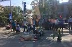 Truy tìm tài xế ô tô tông chết người đang dừng đèn đỏ rồi bỏ trốn
