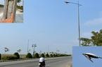 """Quảng Ngãi: Nham nhở, """"dặt dẹo"""" hệ thống điện chiếu sáng ở tuyến đường 729 tỷ đồng"""