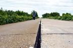 Cà Mau đồng ý cho chuyên gia Hàn Quốc xử lý khe lún mặt đường đê biển Tây
