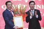 Trao quyết định phân công Bộ trưởng Đinh Tiến Dũng làm tân Bí thư Thành ủy Hà Nội