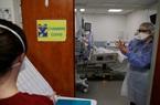 Gia tăng số người nhiễm COVID-19 cần chăm sóc đặc biệt tại Pháp
