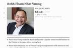Forbes gọi tên những người giàu nhất hành tinh, bất ngờ danh sách tỷ phú Việt Nam