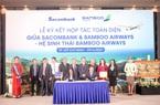 """Sacombank """"bắt tay"""" với hệ sinh thái Bamboo Airways của tỷ phú Trịnh Văn Quyết"""