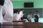 Clip: Thầy giáo ở Bắc Giang đánh học sinh vì không chấp hành nội quy