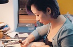 Bỏ lương nghìn đô, cô gái Hà Nội khởi nghiệp với nghề điêu khắc da bò