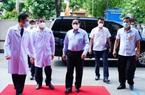 TP.HCM: Thủ tướng kiểm tra phòng chống dịch Covid-19 tại bệnh viện tuyến cuối