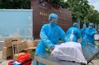 Video: Tiếp tế nhu yếu phẩm cho bệnh nhân, nhân viên Bệnh viện K Tân Triều