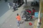 """Clip: Cảnh sát hình sự hoá trang quật ngã """"siêu trộm"""" xe SH"""
