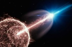 """Tia gamma từ """"ngôi sao chết"""" tạo ra vụ nổ sáng nhất trong Vũ trụ"""