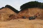 Thái Nguyên kiểm tra, xác minh hoạt động khai thác tại mỏ đất của Công ty Việt Cường