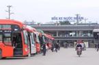 Test Covid-19 cho lái xe vào Hà Nội tại bến xe Nước Ngầm, Yên Nghĩa