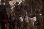 Hai tòa nhà bị đổ sập ở Brazil