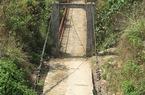 Hơn 40% số cầu treo  cần sửa chữa