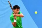 Hoàng Nam thẳng tiến vào vòng 3 giải quần vợt trẻ Malaysia