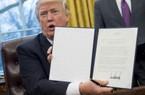 Trump đứng trước sức ép lớn khi rút Mỹ khỏi TPP