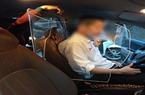 Hà Nội: Tài xế lắp tấm chắn bảo vệ khoang lái có được đăng kiểm?