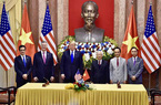 Tổng Bí thư, Chủ tịch nước và Tổng thống Mỹ chứng kiến Bamboo Airways mua 10 máy bay Boeing