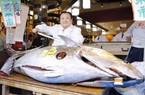 Chơi sốc đầu năm: Chi 41 tỷ để mua con cá ngừ vây xanh nặng 276kg