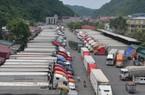 Trung Quốc ngừng thông quan, hàng loạt xe thanh long phải quay về