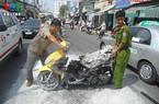 Phí bảo hiểm cháy, nổ xe máy từ 10.000 đồng/xe