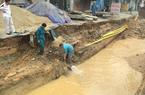 Quảng Ninh: Thi công QL18A làm vỡ đường ống, hàng nghìn hộ mất nước