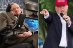 """Thiên tài Stephen Hawking """"bó tay"""" trước sự nổi lên của Donald Trump"""
