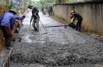 Thái Nguyên cấp 100.000 tấn xi măng cho các xã nông thôn mới