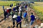 Quảng Ngãi: 600 đoàn viên giúp dân làm 1km đường xong trong 1 ngày