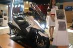 Soi xe ga Kymco AK550 sắp về Việt Nam, giá ngang ôtô Hyundai i10