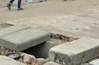"""Ảnh: """"Bẫy"""" cống ngầm trên dự án giao thông nghìn tỷ ở Hà Nội"""