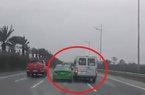 """Xe khách và taxi """"vờn"""" nhau trên đường ra sân bay, 2 tài xế bị phạt nặng"""