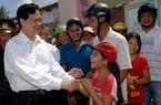 Thủ tướng Nguyễn Tấn Dũng dự lễ khánh thành dự án cấp điện cho huyện đảo Lý Sơn