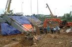Hiện trường vụ vỡ đường ống nước sông Đà