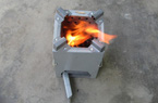 Bếp đun viên nén năng lượng: Tiết kiệm nhiên liệu, bảo vệ môi trường