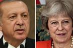 """Thổ Nhĩ Kỳ cầu cứu Anh ra tay ngăn """"chiến tranh"""" với Mỹ"""
