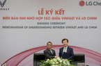VinFast bắt tay LG sản xuất pin xe điện